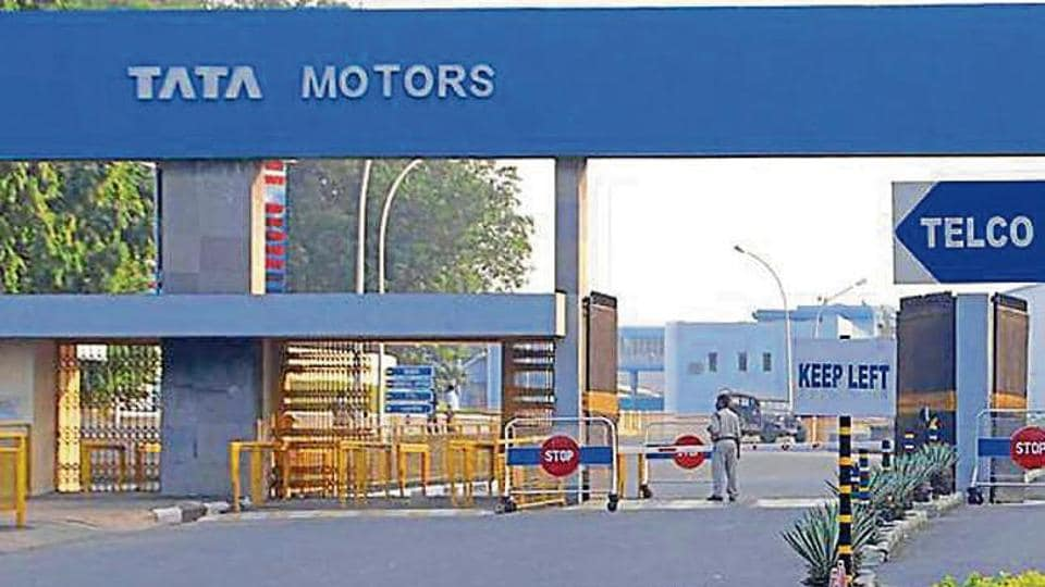 Tata Motors main entry gate wore a deserted look on Friday in Jamshedpur in the midst pf four-day block closure till Saturday and will remain shut on Sunday, being a holiday in Jamshedpur, India, August 2, 2019.