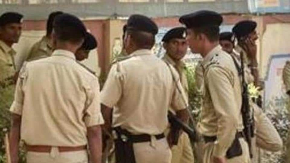 Gujarat police said hat it was a brawl between two groups over some petty issue and nobody was forced to chant Jai Shri Ram.