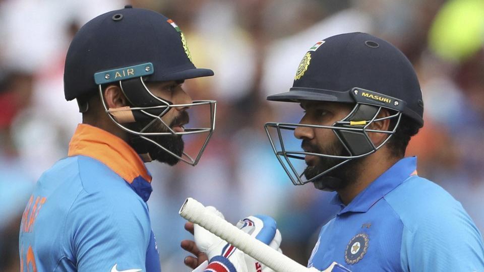 File image of India skipper Virat Kohli and Rohit Sharma.