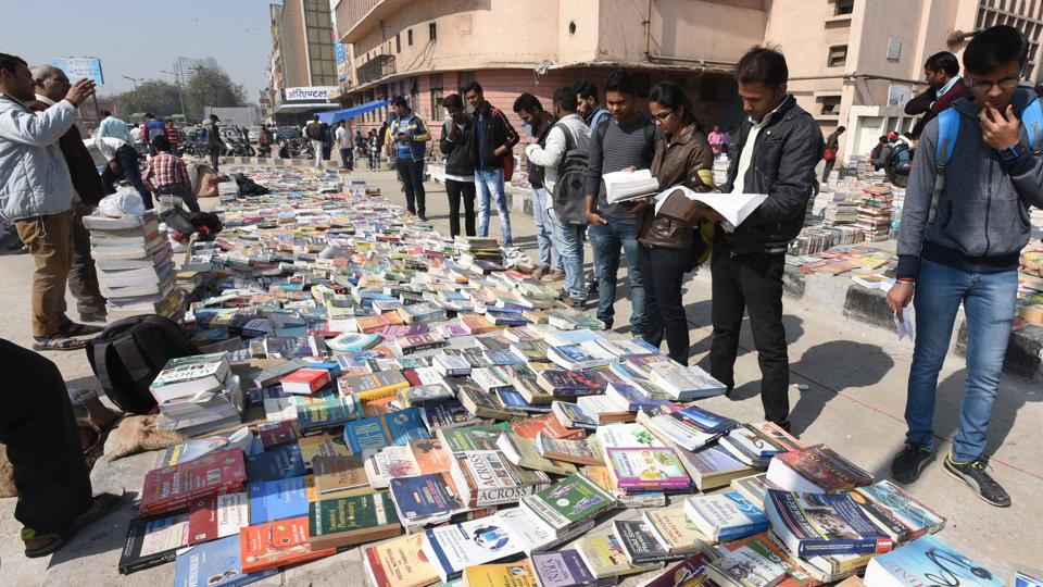 The Sunday book market has been shut down following a July order by the Delhi High Court.