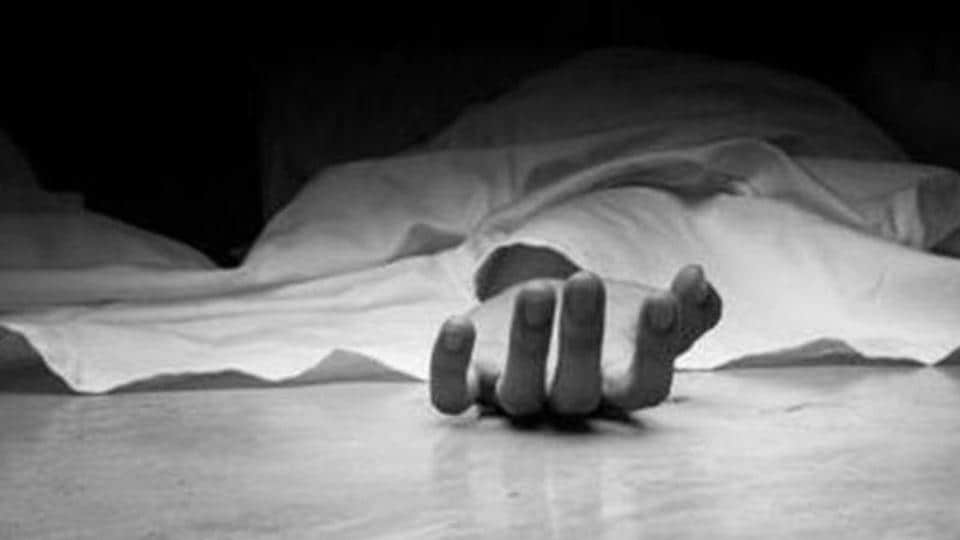 Miffed over not being able to visit her mother's home, a 25-year-old woman in Rath town of Hamirpur district set herself and her two children ablaze, police said on Sunday.