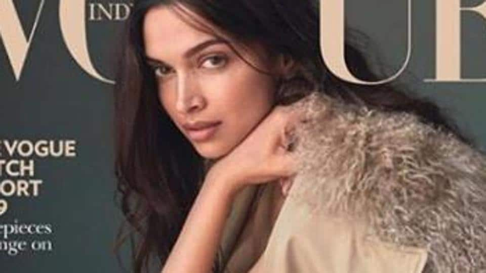 Deepika Padukone did a makeup-less photoshoot for Vogue India.