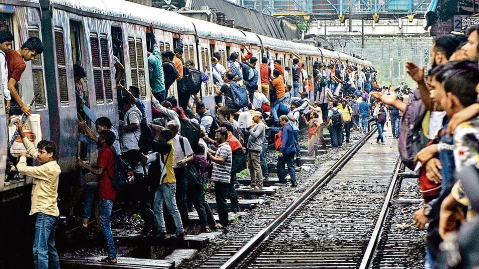 The CR operated some special trains to Kalyan (above) as commuters had a tough time on Saturday, with suburban services remaining suspended for hours.