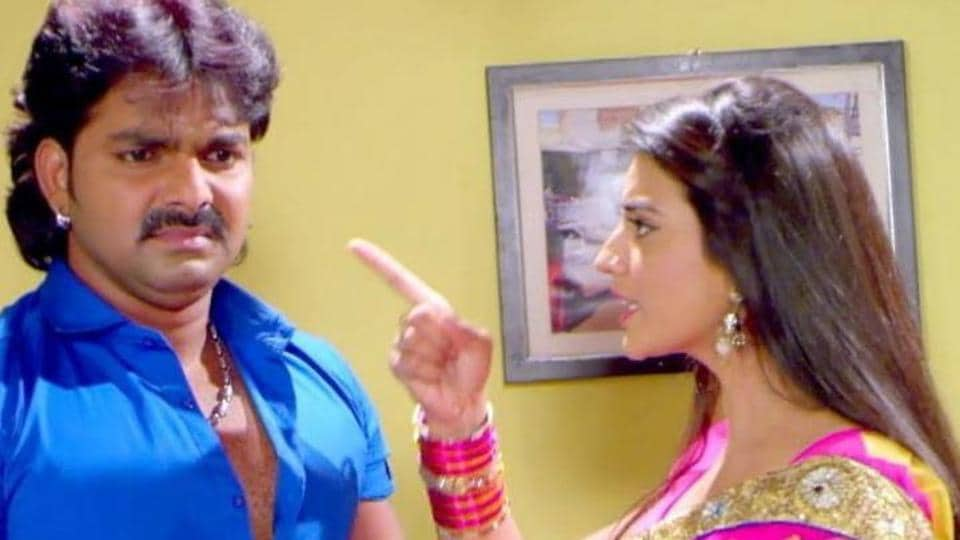Pawan Singh and Akshara have worked together previously and even dated before his wedding last year.