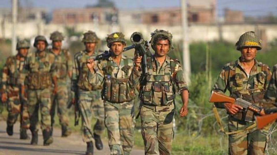 The Indian army on Sunday asked Pakistan to take back bodies of a Pakistani commando and terrorist killed in a firefight in Jammu and Kashmir's Keran sector last week.. (AP Photo)