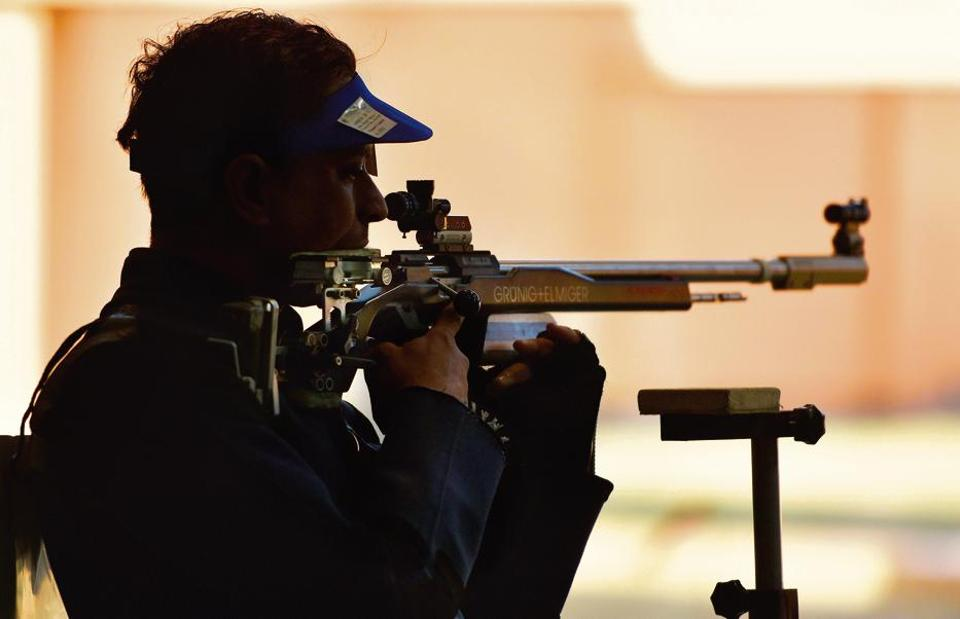 Sanjeev Rajput, son of a street food vendor, took up shooting after his naval training stoked interest in the sport