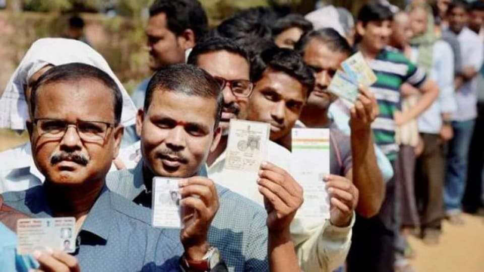 Voting in Vellore constituency was cancelled after the polling body found evidence of money being used to vitiate the process.(PTIFILE)