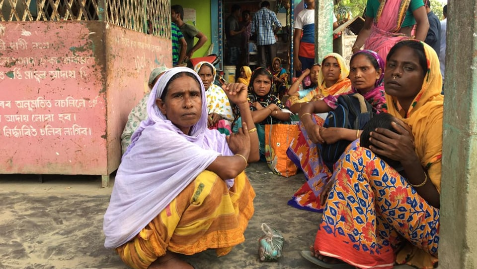 Thousands of people mostly in lower Assam received re-verification notices on Saturday and Sunday with many asked to appear before the designated authorities in Upper Assam districts.