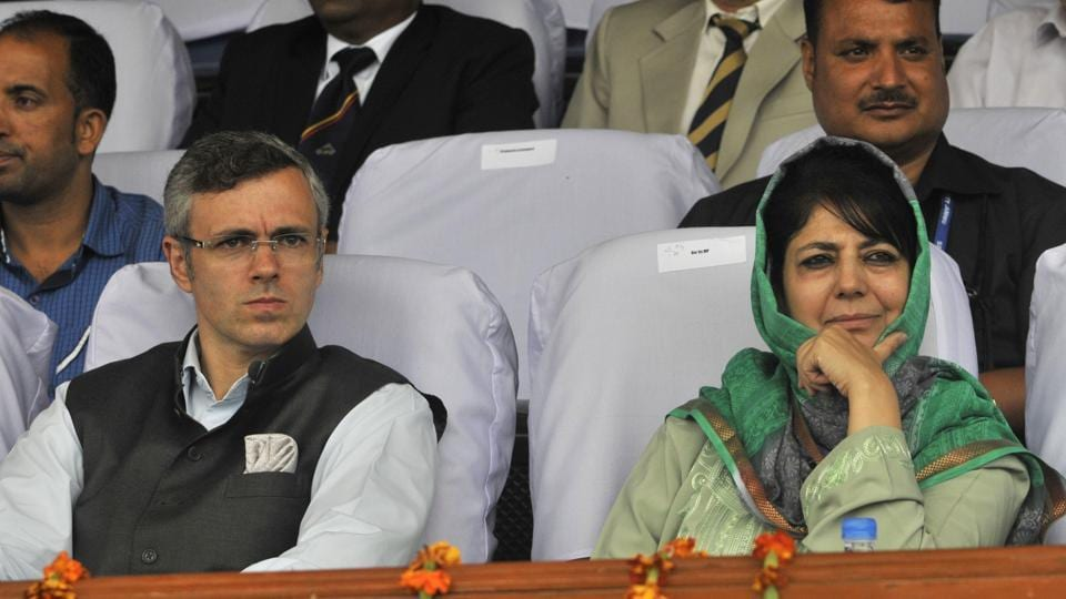 National Conference leader  Omar Abdullah  and Peoples Democratic Party President Mehbooba Mufti were arrested inSrinagar on Monday.