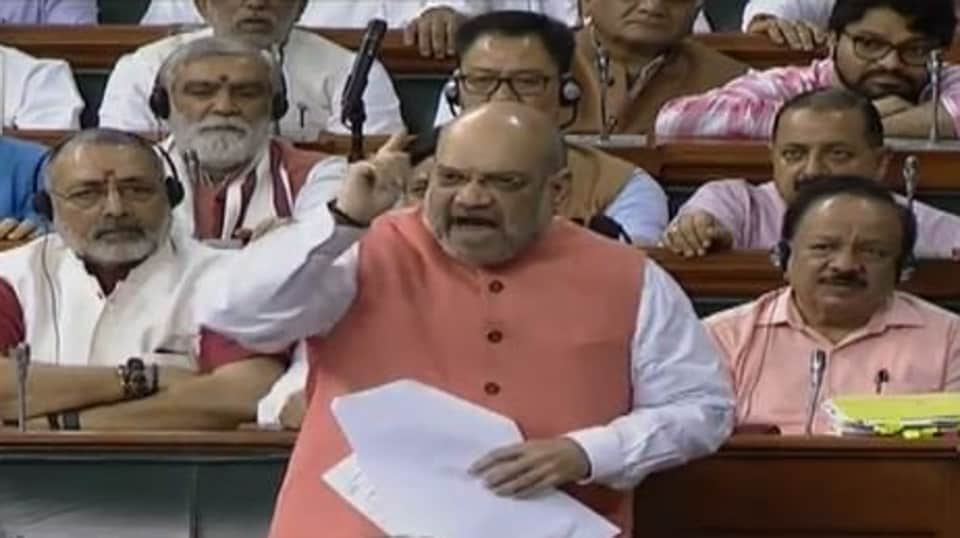 Home minister, Amit Shah.