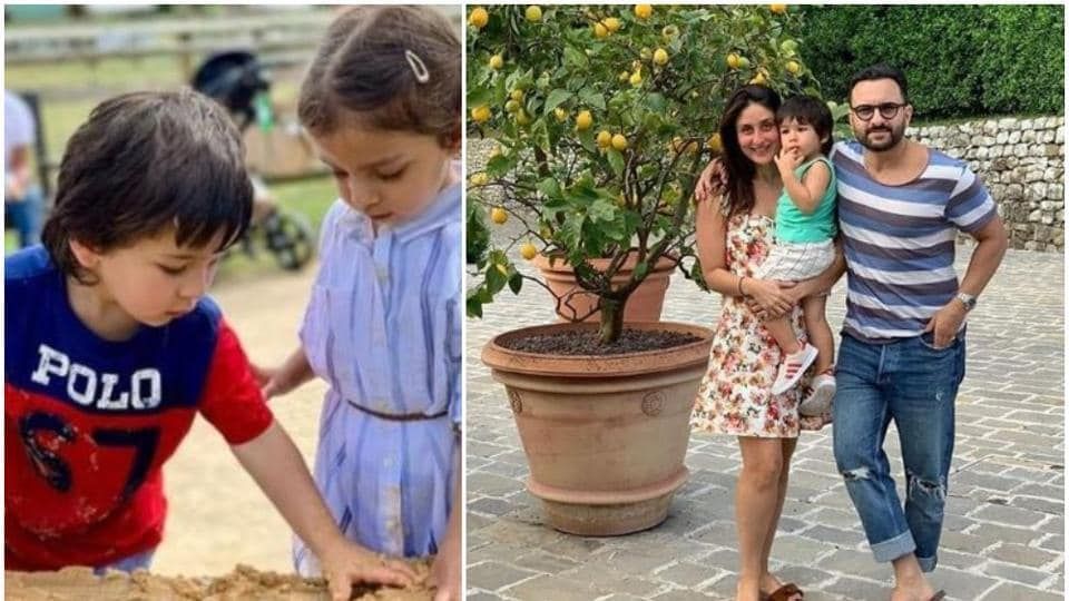 Kareena Kapoor,Saif AliKhan and their son Taimur are currently on a vacation in London.