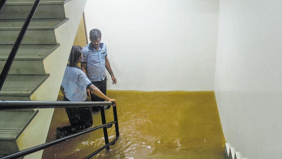 The basement, lower basement and ground floor of eight-storeyed Jupiter hospital in Baner were submerged following heavy rains in Pune.