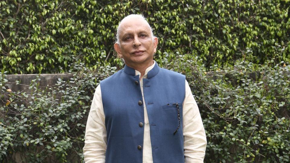 New Delhi, India, March 13th, 2019 Profile shoot of spiritual Guru Shri M at Dahoulpur House, Chanakyapuri Photos : Prabhas Roy