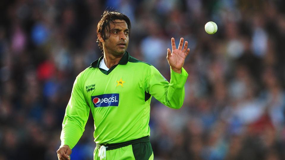Former Pakistan fast bowler Shoaib Akhtar.  on September 17, 2010 in London, England.