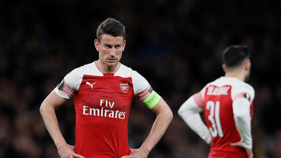 Arsenal's Laurent Koscielny.