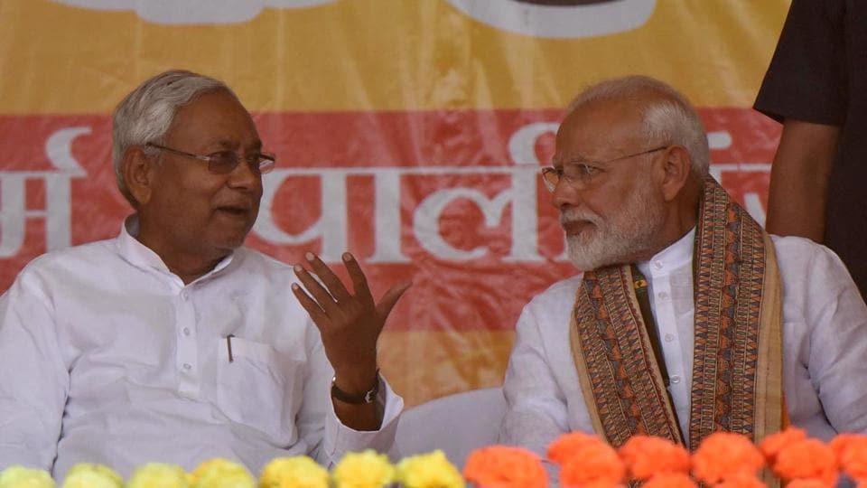 Prime Minister Narendra Modi and Bihar Chief Minister Nitish Kumar.