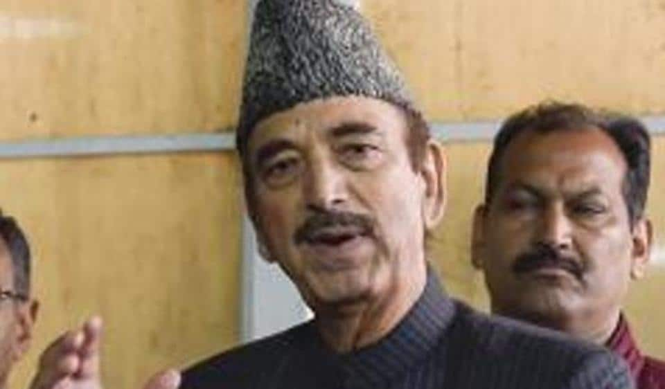 Congress leader  Ghulam Nabi Azad opposed the move in the Rajya Sabha.