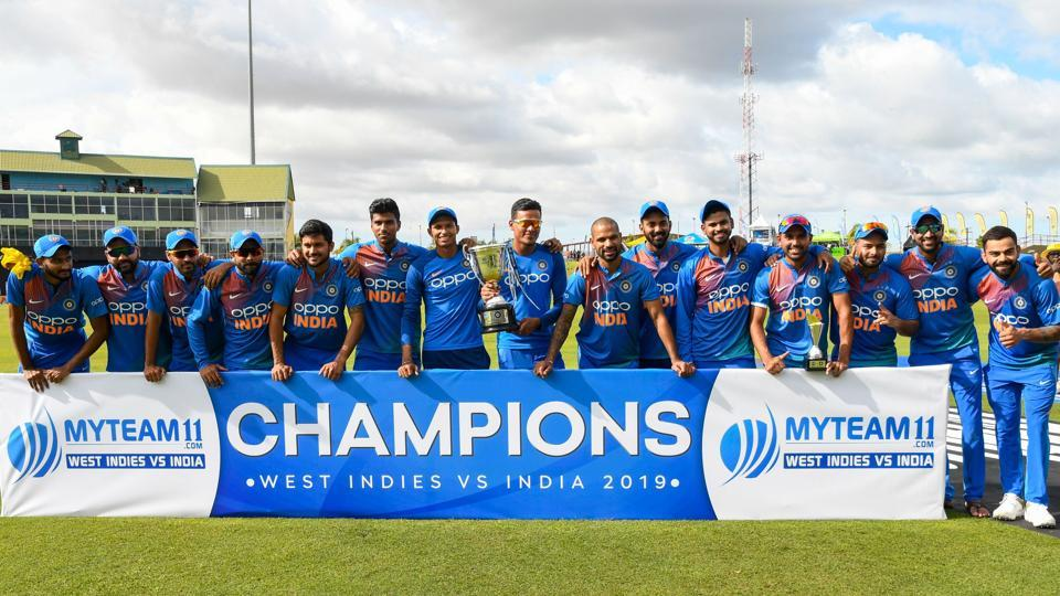 India complete T20I series whitewash over West Indies