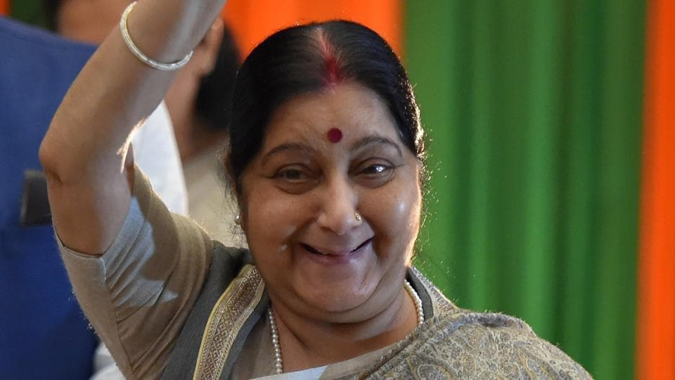 Former external affairs minister Sushma Swaraj passed away in New Delhi.