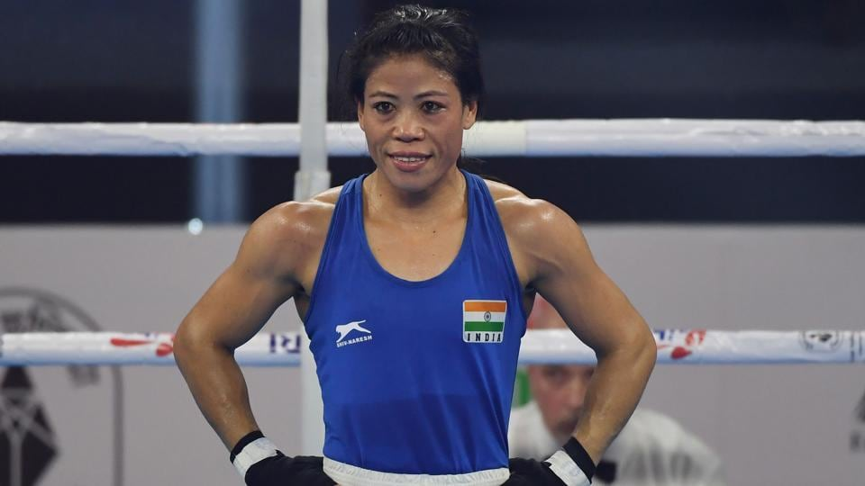 A file photo of Indian boxer Mary Kom.