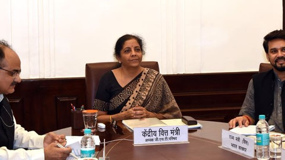 Nirmala Sitharaman, who announced a hike in surcharge for the super rich, will meet foreign portfolio investors at 4 pm on Friday. (Photo @FinMinIndia)