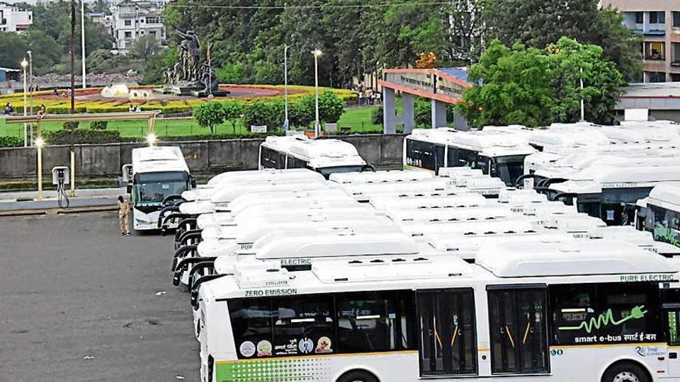 PMPML gets 150 electric buses under Fame-II scheme from central government  - Hindustan Times