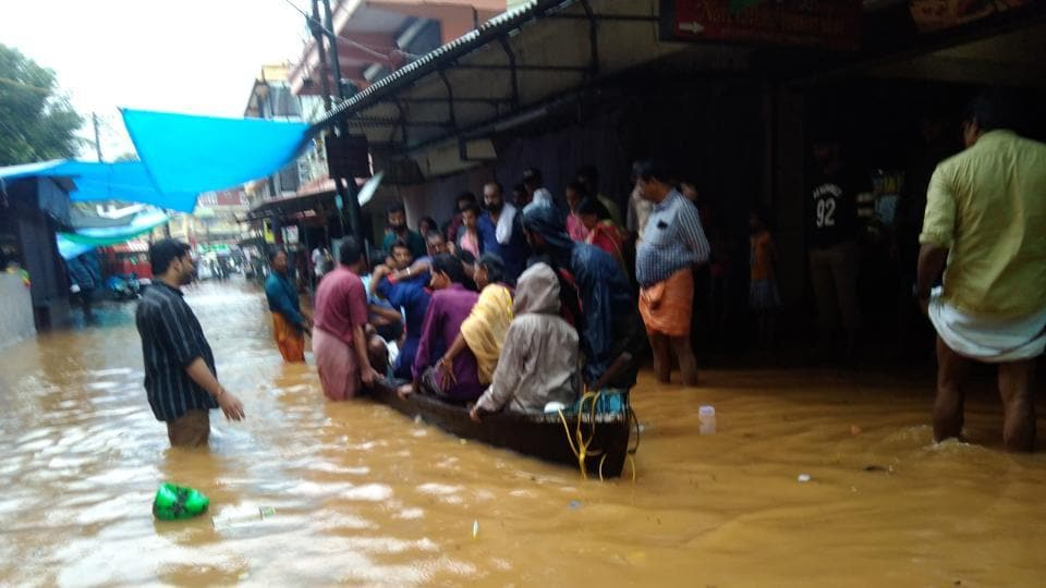 Chief minister Pinarayi Vijayan called an emergency meeting as the rains intensified hitting north Kerala the most, after last year's flood of the century.