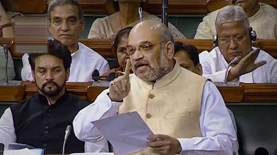 By now emerging as the clear number two in the government, Amit Shah is gaining public traction