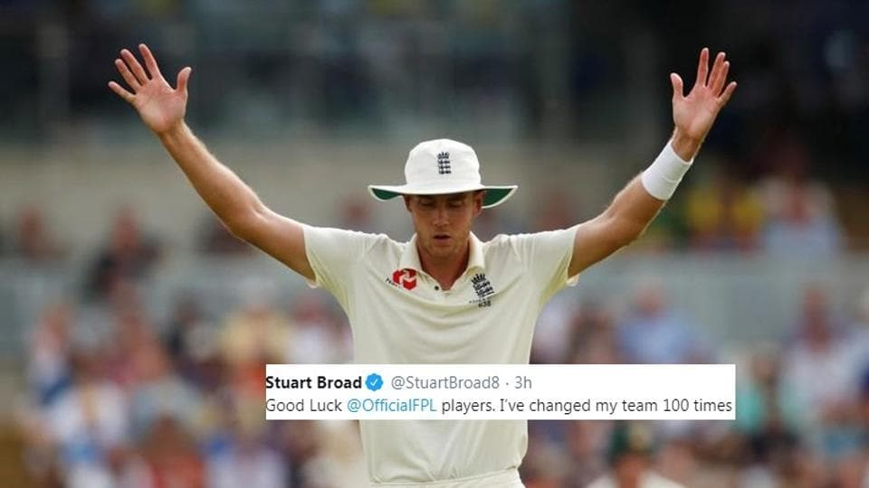 Stuart Broad asks for fans opinions.