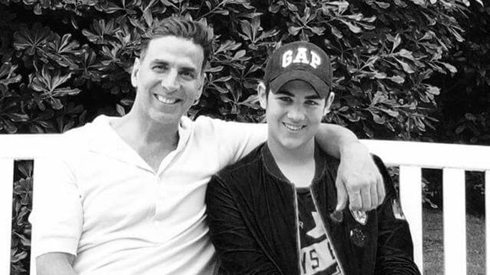 Akshay Kumar says it's a different learning experience with son Aarav.