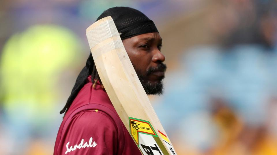 File image of Windies cricket Chris Gayle.