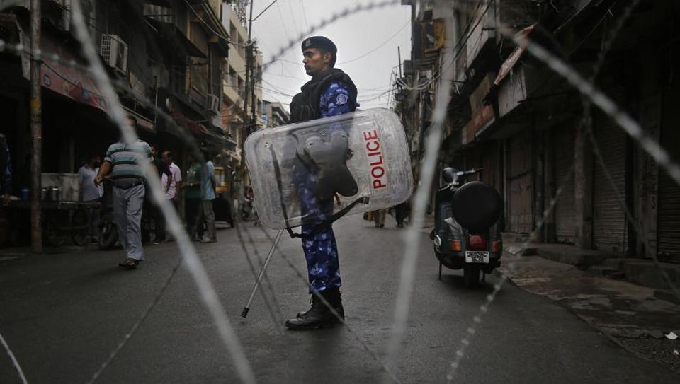 Restrictions have been imposed in several districts of Jammu and Kashmir as a precautionary measure after the state lost its special status.
