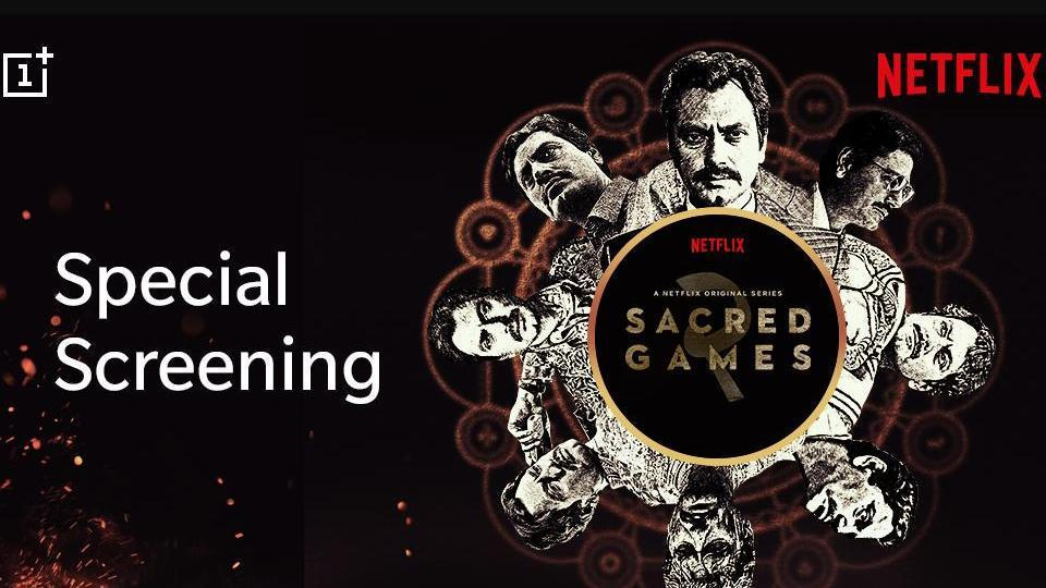Sacred Games 2 will be available a day earlier for OnePlus Community members.