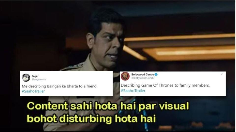 This line from Saaho is already a hit with fans.