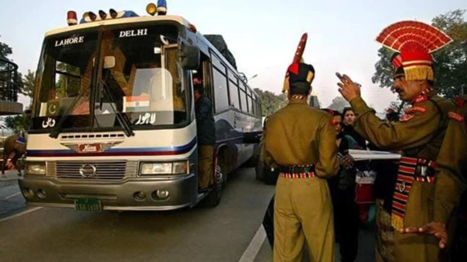 The Samjhauta Express was held up at Wagah on Thursday for some time by Pakistan authorities, citing security concerns. An Indian locomotive then brought the train to its side of the border.