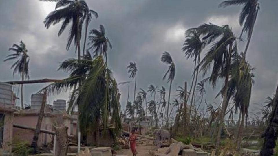 In Puri, ground zero of the cyclone thousands of schoolchildren and their teachers are finding it difficult to deal with the post-cyclone scenario as their school buildings have been completely razed or devastated beyond repair.