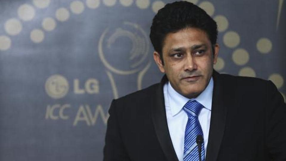 File image of Anil Kumble