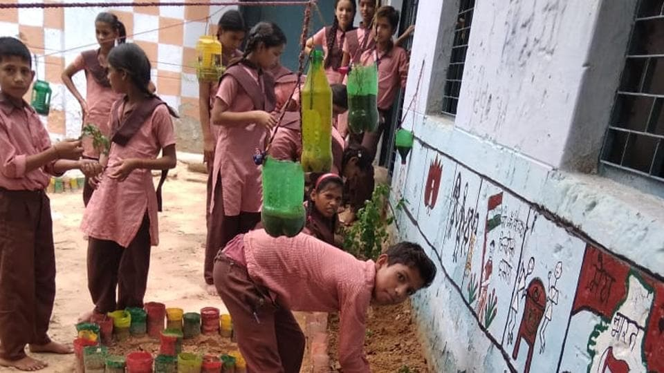 Aiming to curb malnutrition among school children CISH will help the state education department develop vegetable and fruit gardens in government schools.