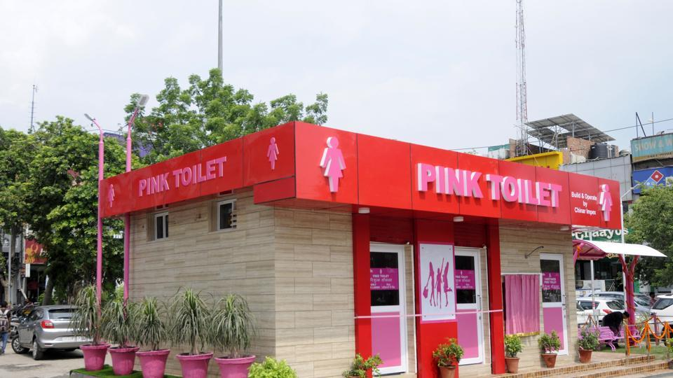 As many as 38 public toilets in Chandigarh will be provided sanitary napkin and condom machines as part of the Smart City Mission. (Photo by Sunil Ghosh / Hindustan Times/Representative Image)