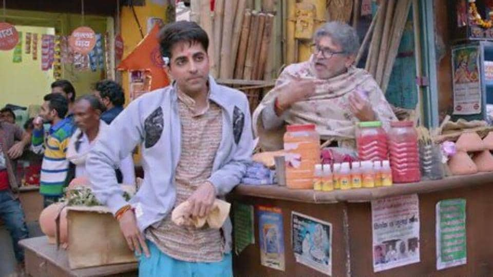 Ayushmann Khurrana and Annu Kapoor have a Vicky Donor reunion.
