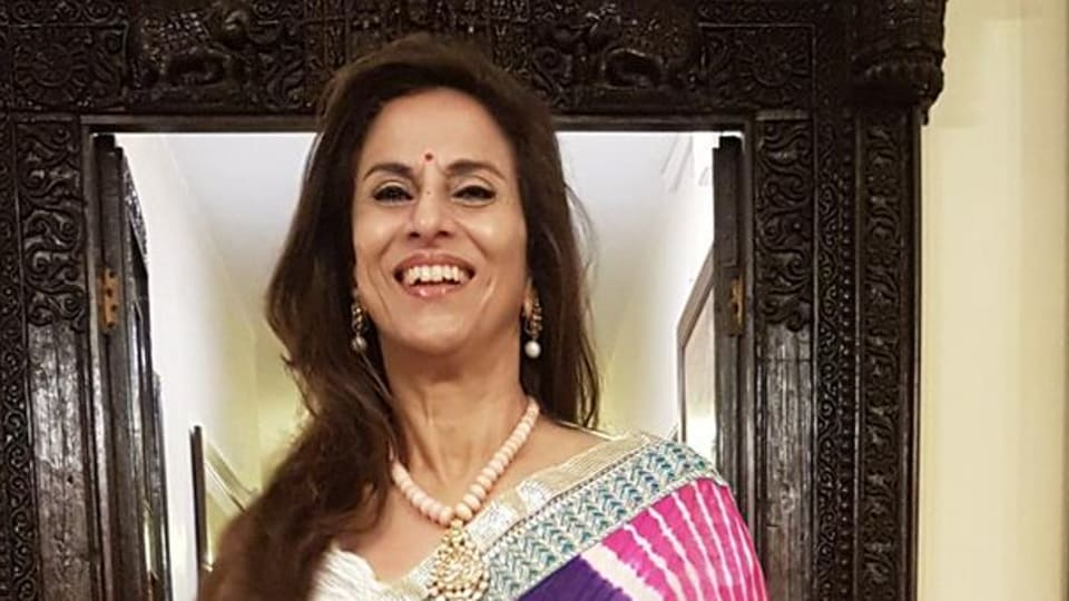 "Shobhaa De called Basit's statement ""dangerous, malicious, and unfair to anybody who believes in the truth"". (Photo @DeShobhaa)"
