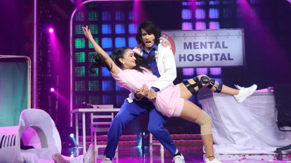 Shantanu Maheshwari and Nityaami Shirke during their performance on Nach Baliye 9.