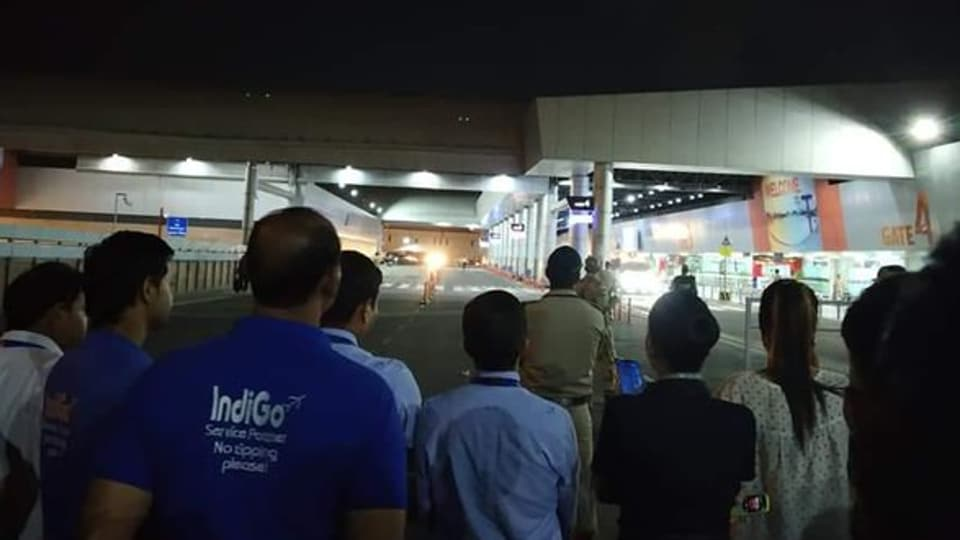 The officials mentioned that at 10 pm operational normalcy was restored in departure as well as arrival area of Terminal 2.  (ANI photo)