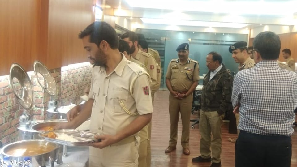 Now, NSA Ajit Doval joins J-K Police officers for Eid meal