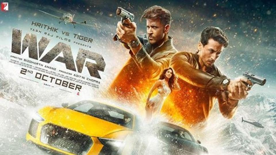 War stars Hrithik Roshan, Tiger Shroff and Vaani Kapoor in lead roles.