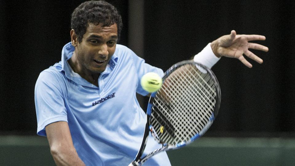 Afile photo of Indian tennis player Ramkumar Ramanathan.