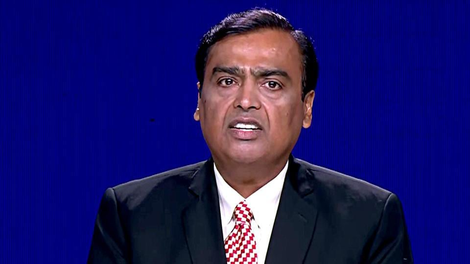 Chairman and MD of Reliance Industries Mukesh Ambani speaks during the 42nd Annual General Meeting (Post-IPO) of Reliance Industries Ltd, in Mumbai