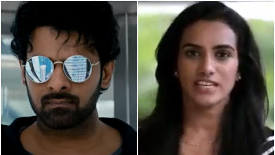 PV Sindhu tweeted after watching the trailer of Prabhas starrer Saaho.
