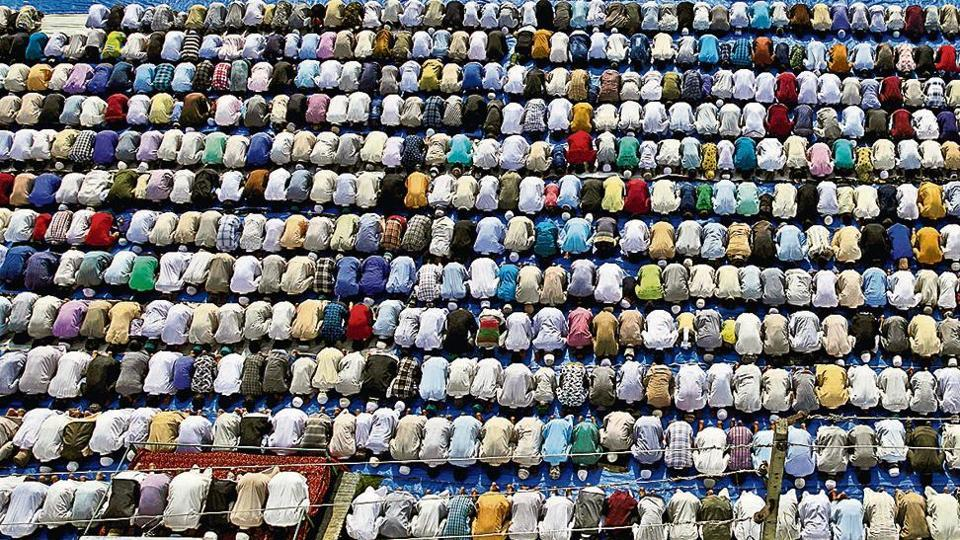 Eid, last Monday of 'Sawan' celebrated in Braj region