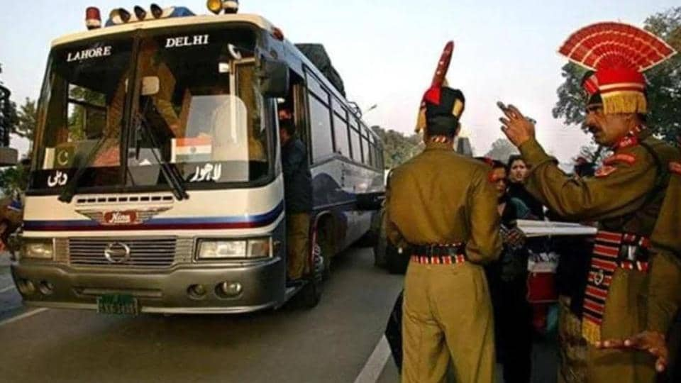 On Saturday, a senior Pakistani minister has announced to suspended the friendship bus service from Monday. A Delhi Transport Corporation (DTC) bus was scheduled to leave for Lahore on Monday 6 AM.(APfile photo)